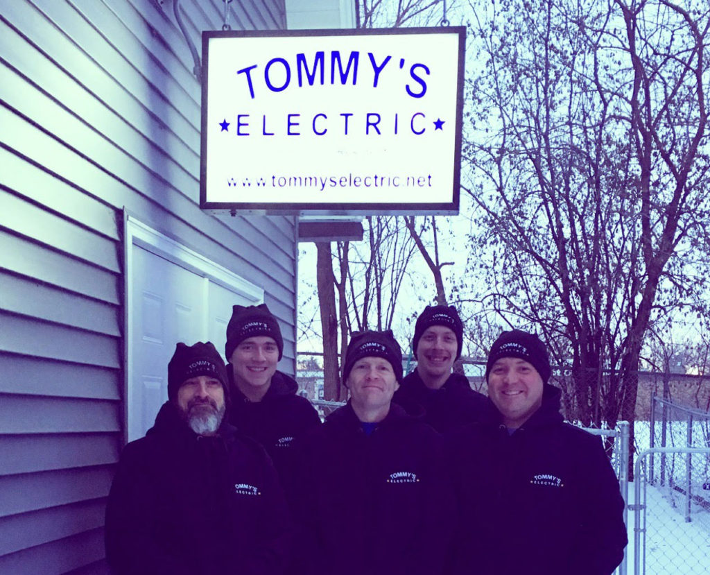 residential electrician minneapolis tommys electric